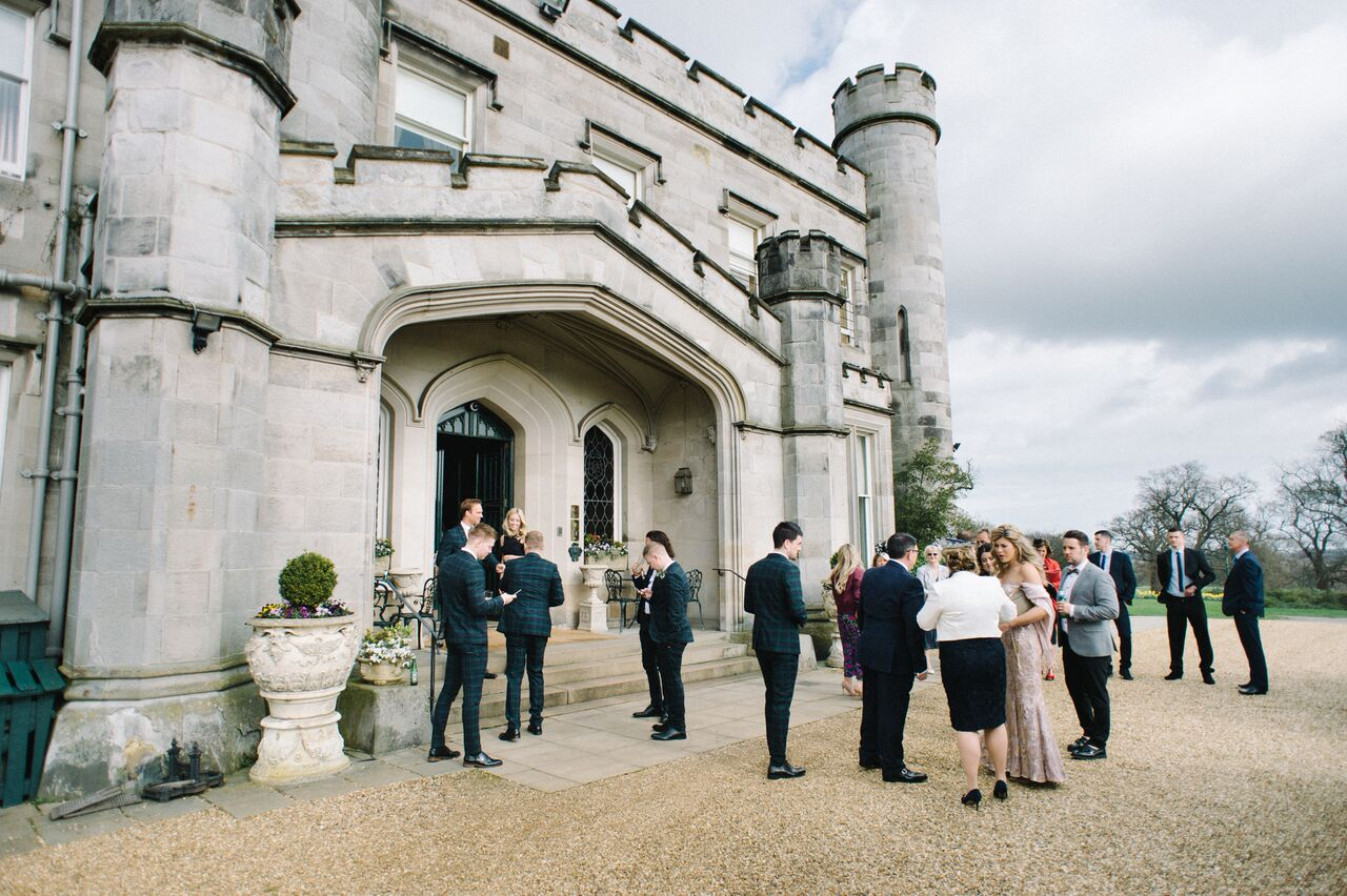 Crofts & Kowalczyk Dundas Castle April Wedding