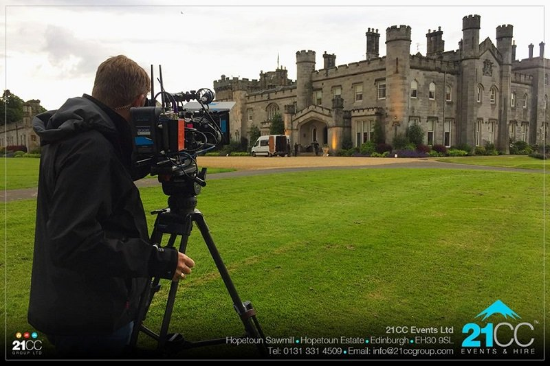 Dundas Castle Filming Location Ladies of London 2